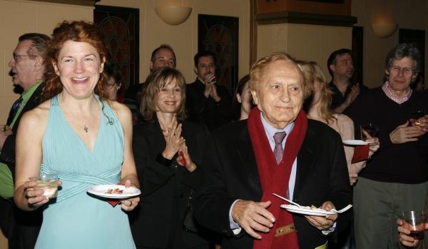 """Victoria Clark & Joseph Stein - """"JUNO"""" 3/30/2008 Photo"""