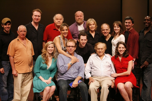 "Stuart Ross (Director) & Joseph Stein (Composer) with Jill Eikenberry, Michael Tucker, Josh Grisetti, George S. Irving, Emily Shoolin and the ensemble cast  -  ""ENTER LAUGHING"" 8/27/2008"