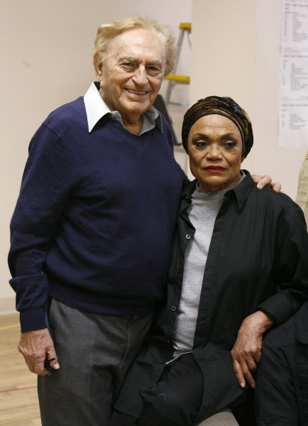 "Joseph Stein & Eartha Kitt - ""ALL ABOUT US"" 3/28/2007 Photo"