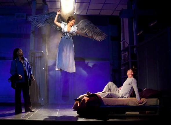 Photo Flash: Signature's ANGELS IN AMERICA in Performance!