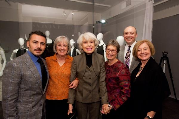Ali Rahimi, Mary Littrell, Carol Channing, Linda Carlson, John Barle and Nancy Hartley