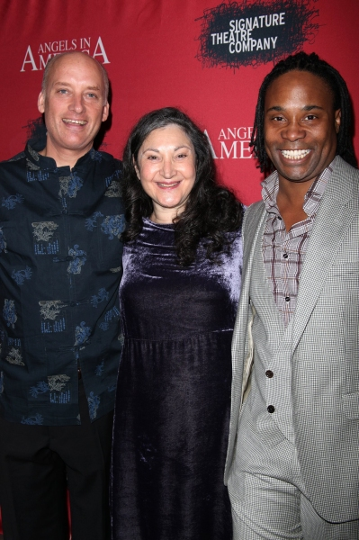 Frank Wood, Robin Bartlett & Billy Porter