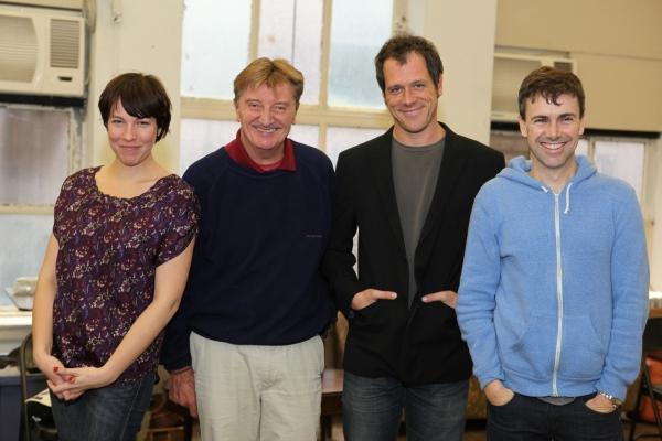 Rebecca Henderson, Larry Bryggman, Darren Pettie and Matt McGrath