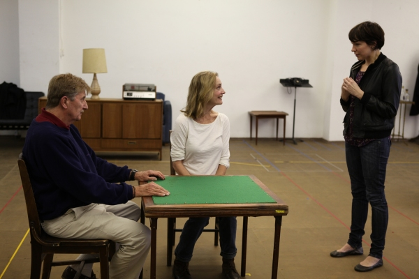 Photo Flash: THE COLLECTION & A KIND OF ALASKA in Rehearsal