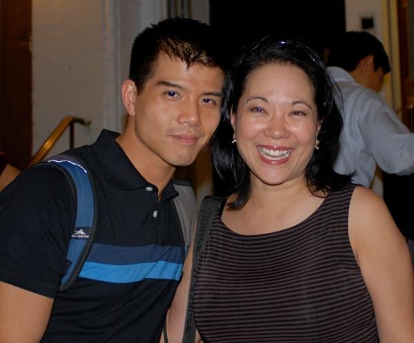 Telly Leung, Christine Toy Johnson Photo