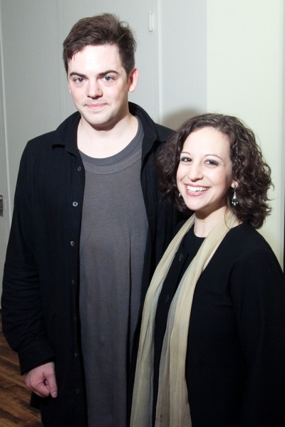 Nico Muhly and Jennifer Zetlan