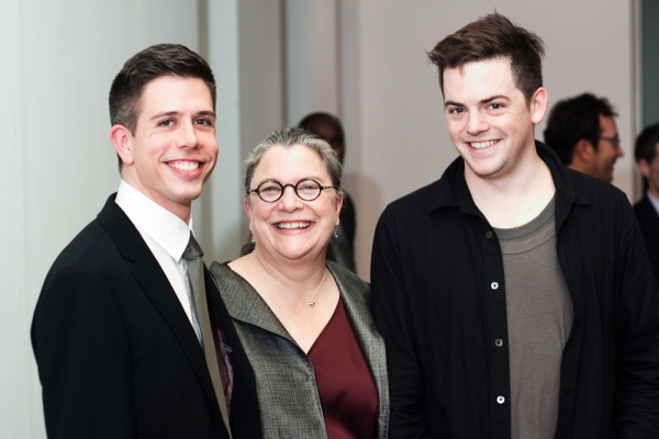 Stephen Karam, Diane Wondisford and Nico Muhly