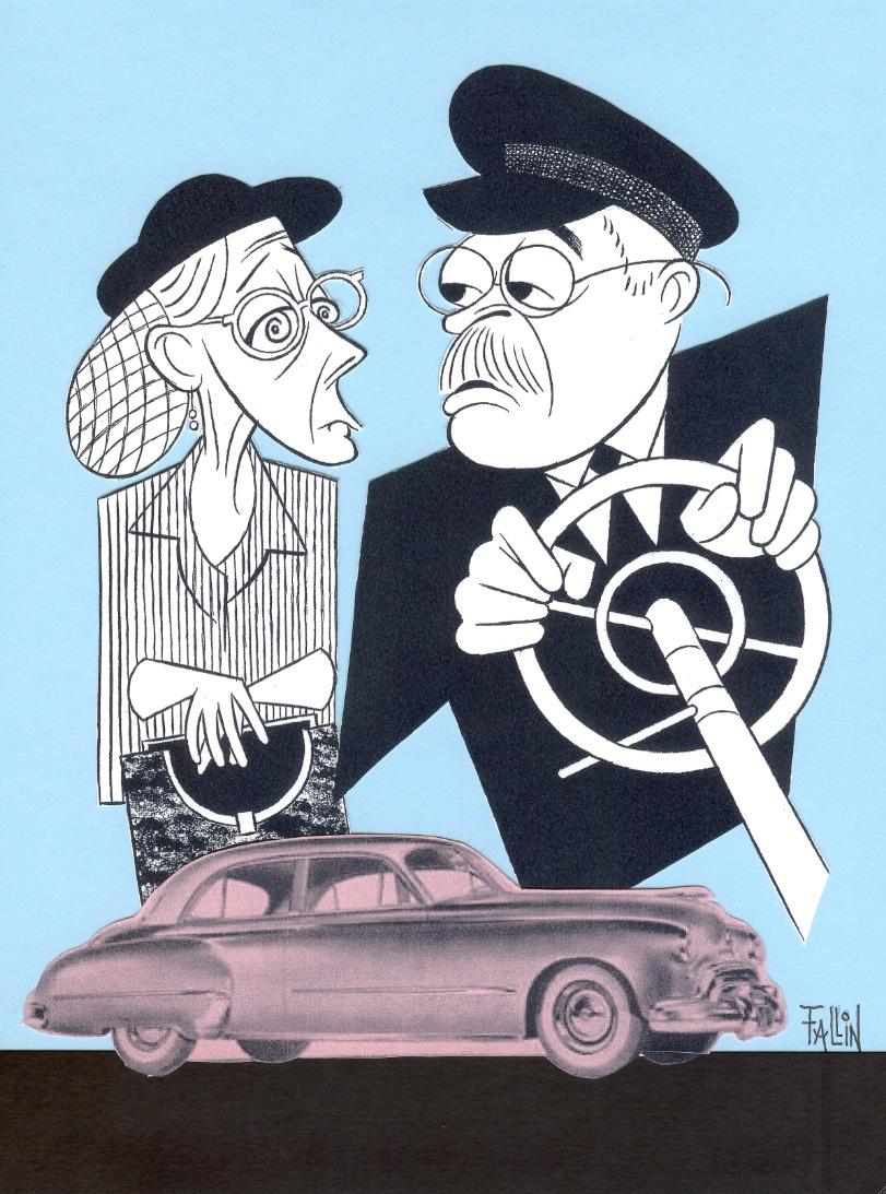 Ken Fallin Illustrates: DRIVING MISS DAISY