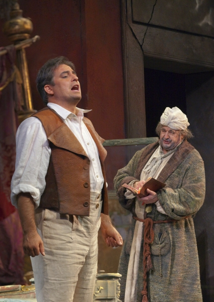 Matthew Polenzani and John Del Carlo at Metropolitan Opera's DON PASQUALE