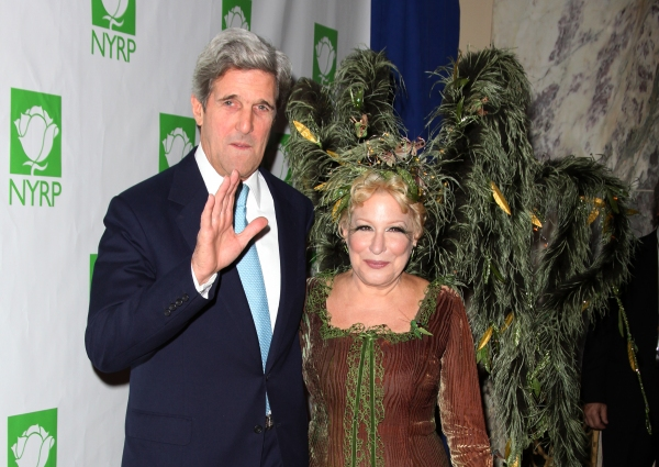John Kerry & Bette Midler
