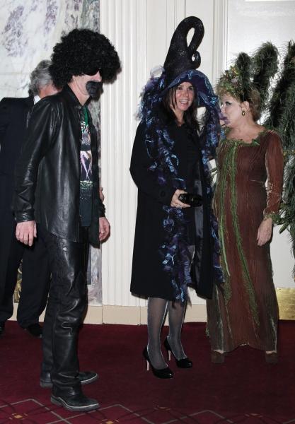 Bette Midler with John McEnroe & Patty Smyth