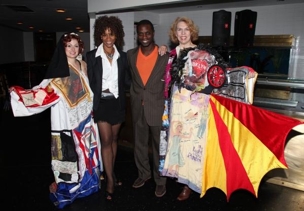 Melissa Robinette (ACCA), Judine Somerville (Gypsy Robe Winner-HAIRSPRAY), Adesola Os Photo