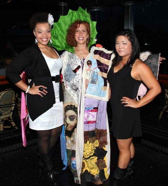 Carmen Ruby Floyd (Gypsy Robe Winner-AVENUE Q-2003), Joanne Borts (Staff) & Erin Quill