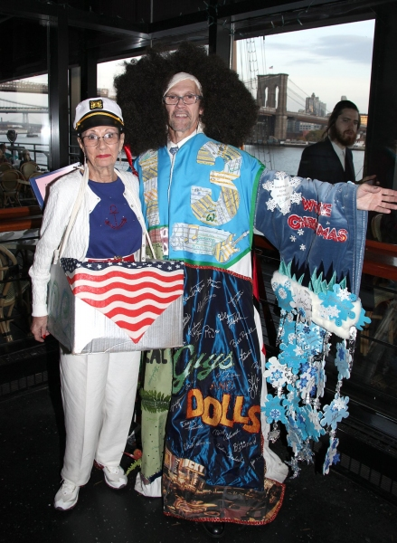 Barbara Newman (Gypsy Robe Winner SMILE - 1986) & Frank Stancati (Staff)  Photo