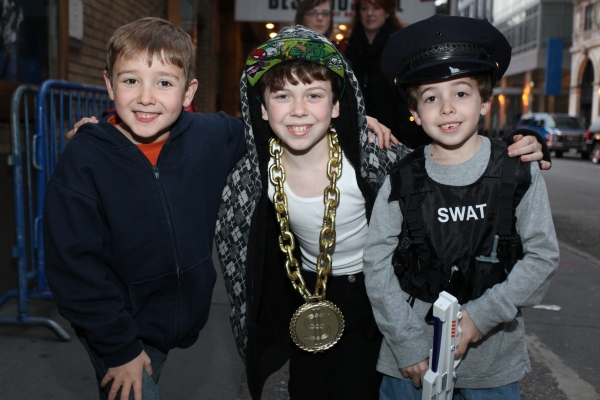 Photo Coverage: BILLY ELLIOT Spooks Up Broadway