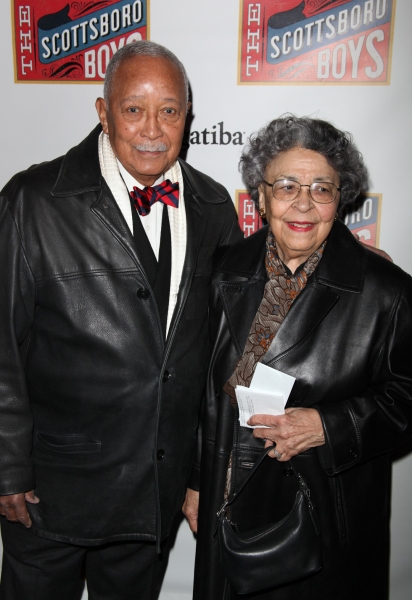 David Dinkins and his wife Joyce Dinkins