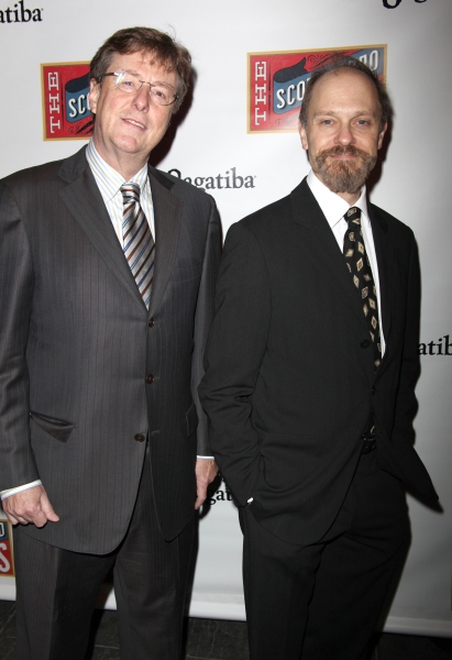Brian Hargrove and his husband David Hyde Pierce