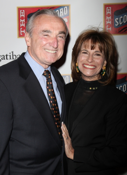 Former Los Angeles Police Chief William Bratton and Rikki Kleimann