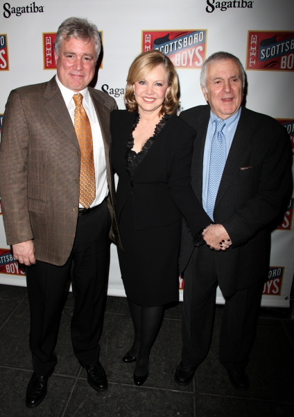 David Thompson, Susan Stroman and John Kander