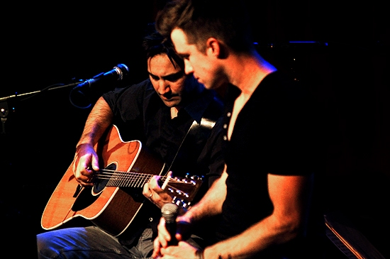 Robbie Roth & Gavin Creel Photo