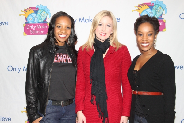 Candice Monet McCall, Jill Morrison and Tanya Birl at McKellen, Lucas and More at Only Make Believe's 11th Anniversary Gala