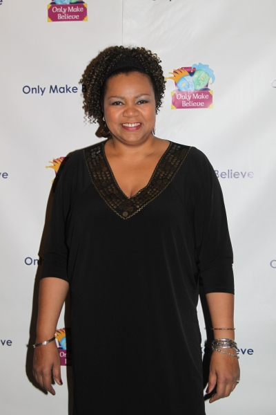Aisha de Haas at McKellen, Lucas and More at Only Make Believe's 11th Anniversary Gala