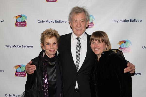 Dena Hammerstein, Sir Ian McKellen and Lee Armitage Photo