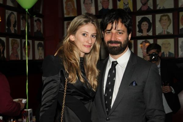 Francesca Hammerstein and Simon Hammerstein