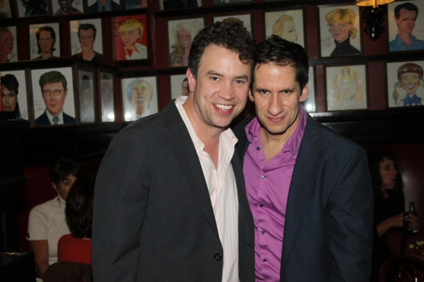 James Wesley and Seth Rudetsky at McKellen, Lucas and More at Only Make Believe's 11th Anniversary Gala