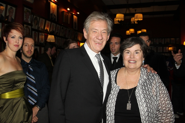 Laura Armitage and Sir Ian McKellen