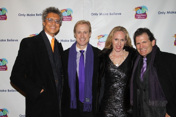 Tommy Tune, Glenn Connolly, Lenore Conviser Gould and Jeffrey Gould Photo