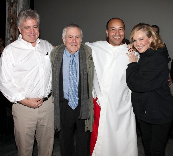 "David Thompson, John Kander, JC Montgomery (Gypsy Winner- ""The Scottsboro Boys"") & Susan Stroman"