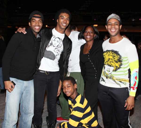 Julius Thomas III, Christian Dante White, Cherene Snow, Derrick Cobey & Jeremy Gumbs