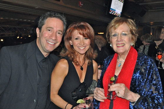 Michael Lavine, Bonnie Langford and Marni Nixon