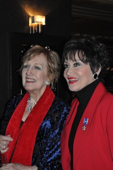 Marni Nixon and Chita Rivera