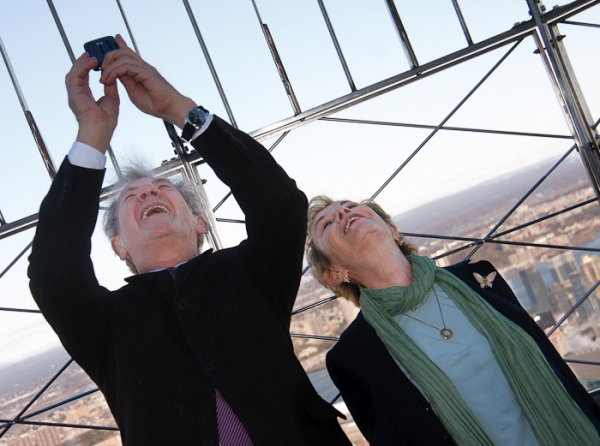 Photos: Ian McKellen Lights Up the Empire State Building for Only Make Believe