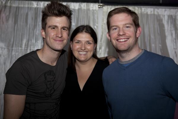 Broadway Impact Founders Gavin Creel, Jenny Kanelos and Rory O'Malley