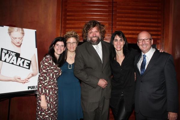 Mandy Hackett, Lisa Kron, Oskar Eustis, Leigh Silverman, and Andrew D. Hamingson Photo