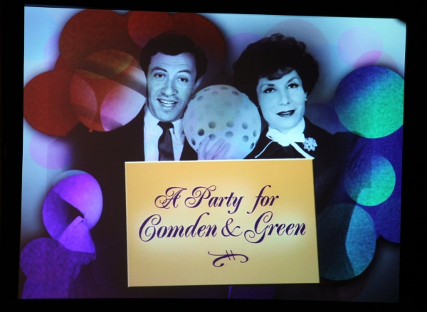 Betty Comden & Adolph Green at NOTHING LIKE A DAME - Part One