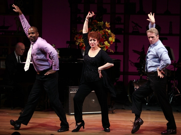 Bernard Dotson, Donna McKechnie & Brian O'Brien at NOTHING LIKE A DAME - Part Two