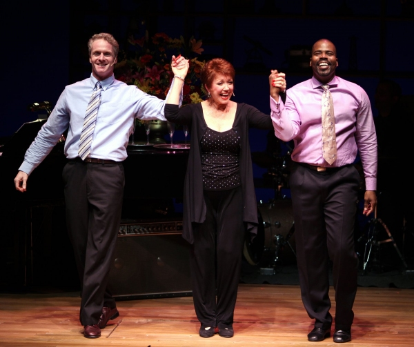 Brian O'Brien, Donna McKechnie, Bernard Dotson  at NOTHING LIKE A DAME - Part Two