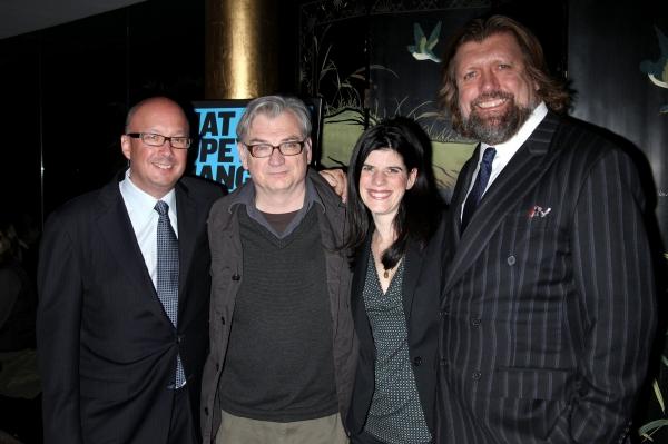 Andrew D. Hamingson, Richard Nelson, Mandy Hackett and Oskar Eustis  Photo