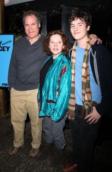 Jay O. Sanders, Maryann Plunkett and their son Jamie Sanders