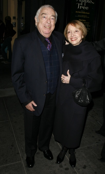 Jerry Bock & wife attend the Opening Night of CYRANO de BERGERAC 11/1/2007