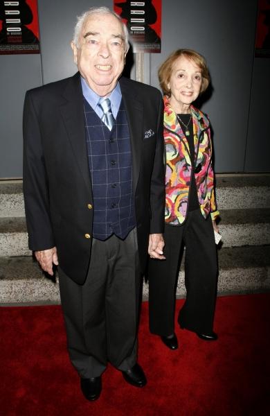 Jerry Bock & wife attend the Opening Night of CYRANO de BERGERAC 11/1/2007 Photo