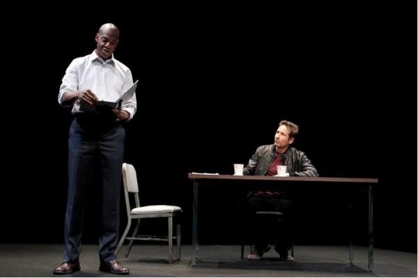 Photo Flash: Duchovny & Peet in MCC's BREAK OF NOON