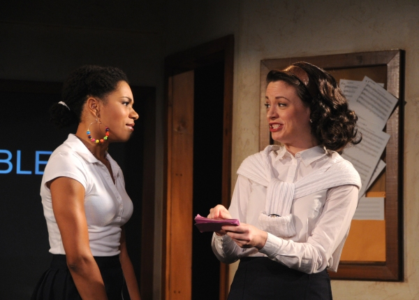 Kelly McCreary and Dana Acheson
