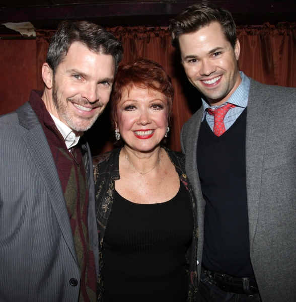 Denis Jones, Donna McKechnie & Andrew Rennells at Donna McKechnie 'My Musical Comedy Life'
