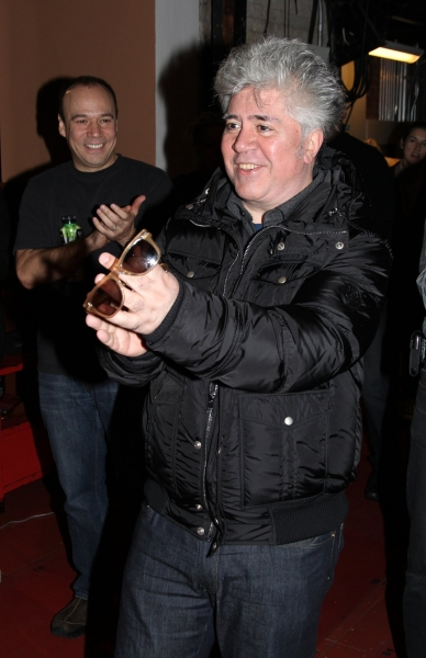 Pedro Almodovar  at Gypsy Robe Ceremony for WOMEN ON THE VERGE OF A NERVOUS BREAKDOWN