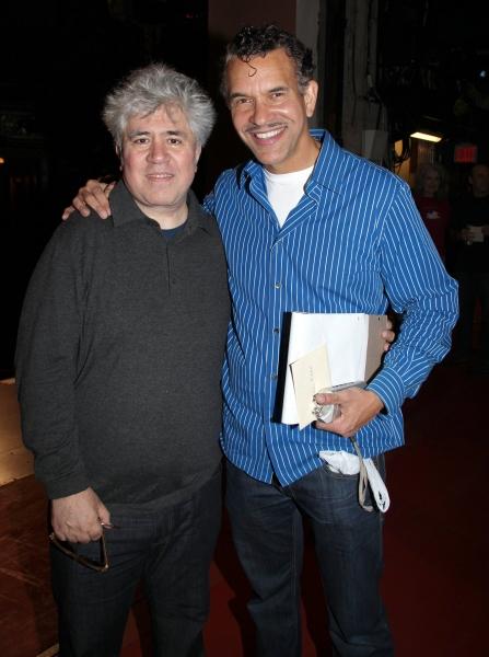 Pedro Almodovar & Brian Stokes Mitchell  Photo